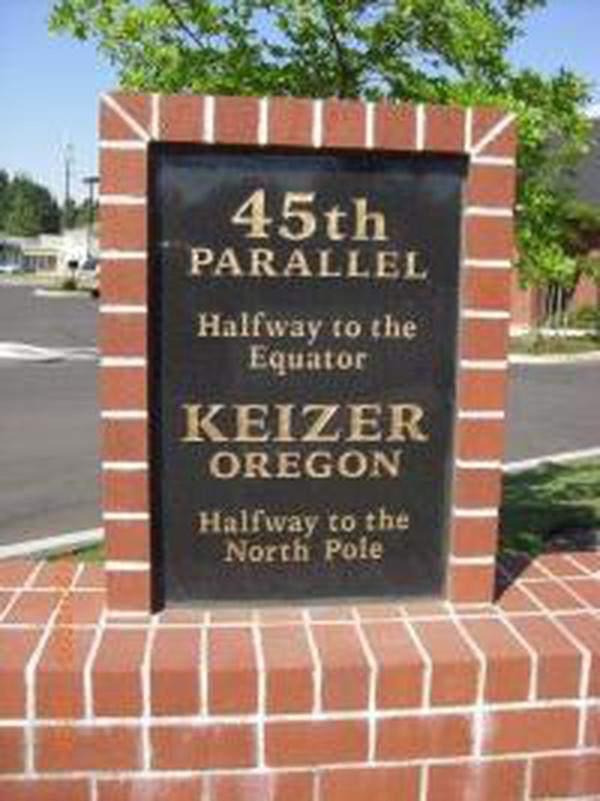 City of Keizer, Oregon - 45th Parallel  Th Parallel Map United States on digital elevation map united states, ebola map united states, tropic of cancer, 35th parallel in united states, 48th parallel united states, 33rd parallel united states, 41st parallel united states, shark attack map united states, 33rd parallel north, forest land map united states, us territories map united states, angle inlet, 40th parallel map united states, 49 parallel map united states, 60th parallel north, 35th parallel north, 30th parallel north, printable blank maps united states, 47th parallel north, 37th parallel north, antarctic circle, 40th parallel north, 42th parallel map united states, 38th parallel map united states, 49th parallel north, high resolution map united states, 50th parallel north, 48th parallel north, 46th parallel map united states, circle of latitude, 33 parallel map united states, plate boundaries in the united states, 42nd parallel north, manifest destiny map united states, 38th parallel north, 45th parallel south, parallel lines map united states, 44th parallel north, 43rd parallel north,